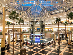 Somerset Collection... (Nicholas Eckhart) Tags: usa fountain retail mi america mall us michigan interior detroit troy somerset collection indoors stores luxury highend concierge 2016 somersetcollection somersetmall luxurymall