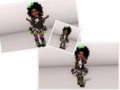 + Funhouse + (Nyah Aaliyah Pana Kouyama) Tags: baby fashion blog kid mesh blogger clothes sl secondlife toddleedoo