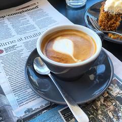 Long macchiato coffee time at Pardon in Prahran