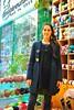 Irini is modeling her new jacket! (sifis) Tags: wool shopping nikon knitting coat knit merino athens greece jacket handknitting 2470 sakalak d700 μαλλιά πλέκω βελόνεσ σακαλάκ