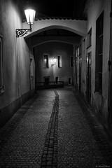 Prague (michael.mu) Tags: street leica blackandwhite bw night 35mm czech prague praha starmsto m240 leicasummicron35mmf20asph silverefexpro leicasummicronm1235mmasph
