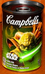 B6097 Campbell's Soup - Yoda (sabre11richard) Tags: light chicken kids healthy with awesome shapes can pasta saber broth condensed