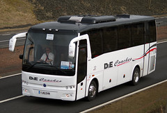 D&E Coaches of Inverness Temsa MD9 YJ16EHN on the A9, Blackford, 13th March 2016 (andyflyer) Tags: bus coach blackford a9 rosscounty decoaches yj16ehn