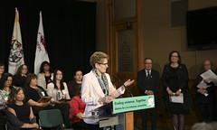 IMG_0753  Premier Kathleen Wynne made an announcement of funding on the Ending Violence Against Indigenous Women Strategy. (Ontario Liberal Caucus) Tags: zimmer aboriginal indigenous meilleur violenceagainstwomen indigenouswomen jaczek maccharles svhap