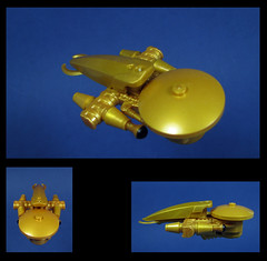 The Hynde (Karf Oohlu) Tags: lego spaceship moc microscale microspacetopia goldenspaceship