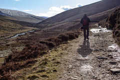 Mosedale walking (3)) (allybeag) Tags: shadow snow lakedistrict hills cumbria fells intothesun mungrisdale mosedale
