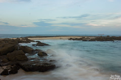 Soldiers Beach (JessPaigePhotography) Tags: beach water landscape rocks outdoor centralcoast slowmotion soldiersbeach