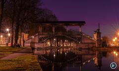 Pont Napolon - Lille (RenaudC Photographie) Tags: light architecture night pont histoire lille napolon