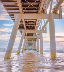 20160130-Under the spit (Kent Wilkins) Tags: ocean morning light sky seascape texture clouds sunrise reflections landscape gold coast pier sand flickr waves jetty australia estrellas queensland southeast tranquil infocus highquality justified australiareflections creativemindsphotography flickerestrellas coppercloudsilversun blinkagain inspiringcreativeminds