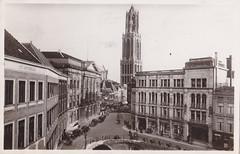 Ansichtkaart Utrecht stadhuisbrug met Domtoren _0001 (dickjan thuis) Tags: utrecht domtoren prentbriefkaart