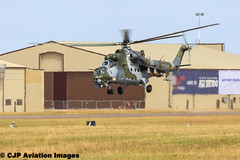Mil M-24 Hind (cjp_1954) Tags: aircraft airshow helicopter hind mil riat m24