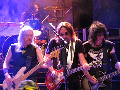 "Ace Frehley - Paul Daniel ""Ace"" Frehley, Chris Wyse, Scot Coogan & Richie Scarlet (Peter Hutchins) Tags: chris scarlet paul dc washington kiss daniel ace richie scot 930club frehley acefrehley coogan wyse chriswyse richiescarlet scotcoogan pauldanielfrehley"