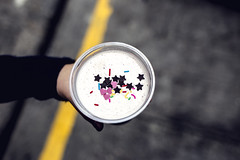 Candy Shake (Daniel E Lee) Tags: travel pink vacation food holiday black 35mm canon hearts stars dessert photography hongkong photo bokeh foodporn kowloon mongkok 6d canon6d canonef35mmf2is canon35mmf2is photosbydlee candyshake
