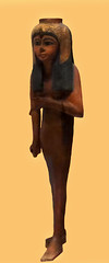 Votive statuette of Ahmose Nefertari, New Kingdom, 19th - 20th Dynasty, 1292 - 1076 BC /     ,  , I- , 1292-1076 . . . (SanctusBulgaria) Tags: egyptianart ahmosenefertari   egyptianwoodenstatuettes