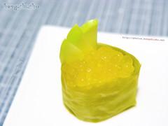 Dessert Sushi (hongzhizhu) Tags: food sushi dessert homemade passionfruit agaragar kitchencreations