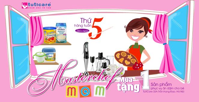 [Vào bếp ngày thứ 5] Mua 1 tặng 1 loạt sản phẩm phục vụ ăn dặm cho bé
