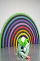 Ugo Rondinone Vocabulary of Solitude 5. (PvRFotografie) Tags: holland museum 50mm clown nederland clowns nex boijmansvanbeuningen ugorondinone minoltamdrokkor50mmf14 sonynex nex6 vocabularyofsolitude