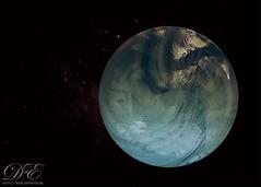 Macro Planet Blue Marble (debahi) Tags: blue macro art glass azul ball nikon space sigma bleu galaxy sphere planet d750 marbles marble universe cosmos f28 espace galaxie galaxia verre planete espacio planeta bille universo 105mm billes univers nikond750