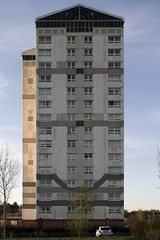 Glen Court & Millbrae Court, Coatbridge, Scotland (SpaceLightOrder) Tags: tower scotland modernism flats highrise towerblock highflats lanarkshire wimpey northlanarkshire glencourt millbraecourt georgewimpeyltd