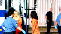 h50503_01758 (UJB88) Tags: county orange women uniform prison jail facility jumpsuit correctional restrained