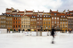Warsaw, Poland (DitchTheMap) Tags: park family winter red people urban white holiday snow motion blur cold color building ice nature sport night square fun outdoors healthy europe flickr cityscape moscow skating crowd group central culture lifestyle poland rink warsaw leisure activity fitness oldtown skates gorky easterneurope 2016