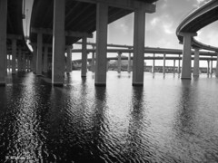 Brian_ Overpass So Balt 2 BW_101711_2D (starg82343) Tags: bridge overpass grayscale 2d brianwallace
