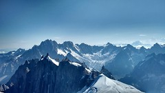View from Aiguille du midi (Iriwindel) Tags: snow mountains alps frenchalps aiguilledumidi