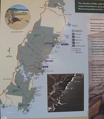 Murramarang National Park map. (spelio) Tags: camping camp coast australia tm nsw 2016