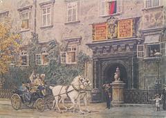 Ansichtkaart Schweizertor Wien Ernst Granerr Cuy Galerie (dickjan thuis) Tags: wien cuy postcard ernst galerie postkarte ansichtkaart schweizertor graner cuygalerie ernstgranerr granerr