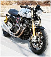 SPORTSTER 1200 (@hotrod1203 crazy-garage) Tags: harleydavidson 1200 custom sportster 883r ohlins