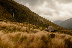 Temple Basin Track (tylerhuestis) Tags: newzealand nature landscape waterfall southisland hdr