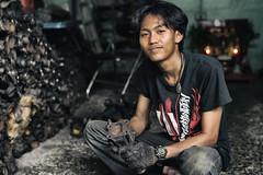 Street Mechanics Bangkok (Darque.G Photography) Tags: portrait man men thailand photography nikon bangkok young portraiture oil mechanic thailande d600 darqueg