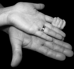 Photo Challenge, 86 of 365 (McKenzie's Photography) Tags: she family blue boy red woman baby male love lady female ball mom him infant dad texas hand baseball sleep finger tx father mother tie bowtie son indoor her heartland fist glove rest inside he hold bump mitt
