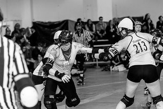 The Chicks Ahoy! vs Death Track Dolls