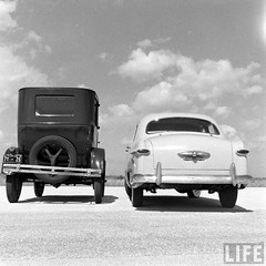 a pair of Fords (blue65pv544) Tags: life ford magazine t model 1950 v8 flathead 1949 shoebox 1951