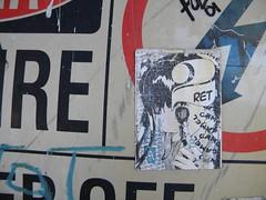 Camel 333 (Randall 667) Tags: street anime art girl island japanese graffiti sticker artist providence camel slap 333 rhode lcs