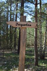 To the maze (mikros.anthropos) Tags: berlin forest maze signpost wald labyrinth wegweiser grnau irrgarten nikond3300
