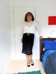 Black Skirt (Trixy Deans) Tags: hot cute sexy classic office tv highheels cd crossdressing tgirl tranny transvestite heels trans transgendered crossdresser crossdress tg sexylegs transsexual classy trixy sexyblonde tgirls xdresser transvesite sexyheels officeattire sexytransvestite heelssexy