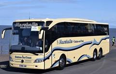 PM16JAM  Marshalls, Sutton on Trent (highlandreiver) Tags: bus mercedes benz coach rally lancashire trent jam marshalls blackpool sutton coaches tourismo pm16 pm16jam