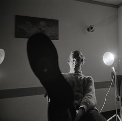 "John KCH ""studio"" (jonathan charles photo) Tags: portrait bw art film photo jonathan charles 1970s"