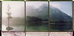 Sunshine Summits (Bastiank80) Tags: polaroid berchtesgaden fuji hintersee fp100c roidweek bastiank