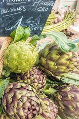 20160420 Provence, France 02473 (R H Kamen) Tags: food france vegetables cassis artichokes foodmarket bouchesdurhne bouchesdurhone provencealpescotedazur provencealpesctedazur rhkamen