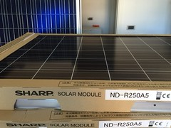 Solar panels by Sharp installed on my house. I did the right thing: not only matter of money, the world need our good and right choices (silvergold84) Tags: sun japan solar energy quality infinity sharp clear made panels sole giappone alternative renewable qualit energia solari infinita pannelli pulita rinnovabile