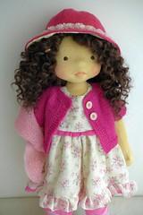 "RACHEL  20"" doll (Dearlittledoll) Tags: puppet waldorf handmadedoll waldorfdoll organicdoll dearlittledoll waldorfdoll18inch"