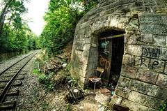 Petite ceinture 8 (charles.enchine) Tags: street urban streetart paris tag railway tunnel urbanexploration urbanjungle exploration urbex abbandonned