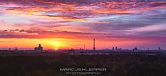 Berlin Spring Sunset (Marcus Klepper - Berliner1017) Tags: sky panorama berlin clouds sunrise germany landscape deutschland spring europe cityscape sonnenuntergang himmel wolken stadt dmmerung aussicht sonnenaufgang frhling morgens teufelsberg haupstadt skyporn cgarlottenburg