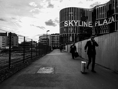 Business (DanieleS.) Tags: street city travel people urban white black face wow walking photography photo amazing cool strada shot good frankfurt smoke great di fotografia dannyboy daniele francoforte ilovedannyboy