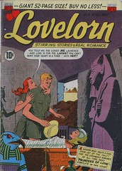 Lovelorn 5 (Michael Vance1) Tags: woman man art love comics artist marriage romance lovers dating comicbooks relationships cartoonist anthology silverage