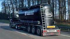 D - Blum >Dyckerhoff weiss< DAF XF 105.460 SC (BonsaiTruck) Tags: truck silo lorry camion trucks 105 weiss blum bulk lastwagen daf lorries lkw xf spitzer citerne lastzug dyckerhoff silozug powdertank