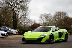 High Vis (MJParker1804) Tags: green twin turbo mclaren british napier supercar longtail v8 carporn 675lt